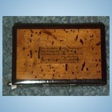 Mauchline Style Needle Case, CA 1850