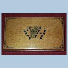Mauchline Card Box, Victorian