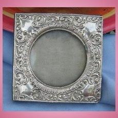 Sterling Silver Frame, Victorian
