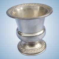 Vintage Sterling Toothpick Holder