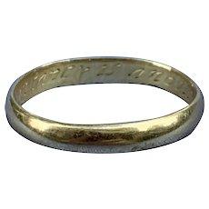 Georgian Posie (posey) ring