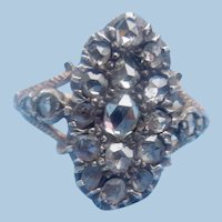 Georgian, Rose Cut Diamond Ring