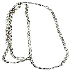 9 carat Yellow Gold Chain, Victorian,  18 inches