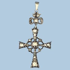 Rose Diamond Cross, Victorian