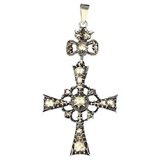 Rose Diamond Cross, Victorian