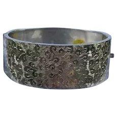 Victorian Silver (Sterling) Bangle Bracelet