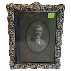 Large , Silver Frame (Sterling) Victorian