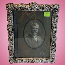 Large , Silver Frame (Sterling) Victorian