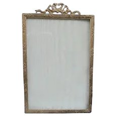 French Ormolu Frame,  4 1/2 by 7, Victorian