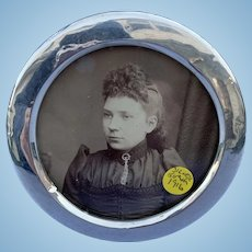 Small, Round, Silver (Sterling) Frame, 1916