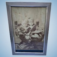 Sterling Silver Frame, mid size, Rome