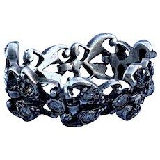 Flexible, Diamond ring, Georgian