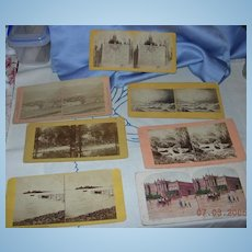 Stereocards, Group of 7, Views of Berlin, Ireland, and Scotland