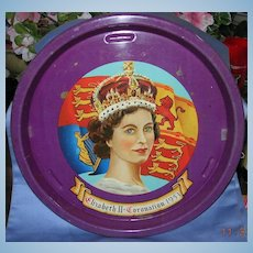 Queen Elizabeth Coronation Tray, 1953