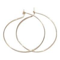2 Inches 14K Gold Filled Hoop Earring Handmade