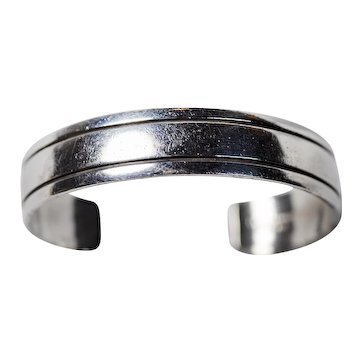 James Pioche Sterling Silver Bracelet