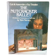 Nutcracker Ballet A Cut and Assemble Toy Theater by Tom Tierney Uncut 1981