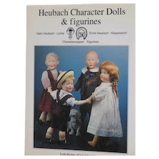 Book:  Heubach Character Dolls & Figurines, Lydia Richter