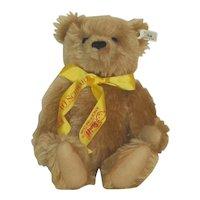 "12"" Steiff  Ltd Ed Musical Teddy Bear, FAO Schwarz 1993, White Tag"