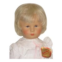 "17"" Vintage Kathe Kruse Toddler Doll"