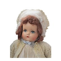 "19"" Madame Alexander Vintage Baby Genius Doll"