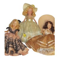 Vintage Nancy Ann Storybook Dolls