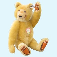 Vintage Steiff Ltd Ed Dicky Teddy Bear, White Tag