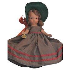 Vintage Nancy Ann Storybook Doll Winter