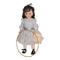 Vintage Doll Renoir Girl with Hoop
