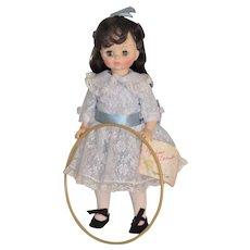 Vintage Doll Renoir Girl with Hoop