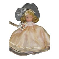 Vintage Nancy Ann Storybook Doll Bridesmaid