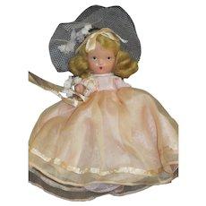 Vintage Nancy Ann Storybook Doll Bridesmaid