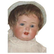 Vintage German Bisque Baby Doll