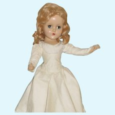 Vintage Arranbee Doll, White Gown