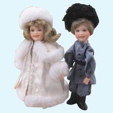 Vintage Katrena & Dimitri Dolls, Wendy Lawton