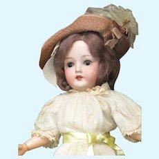 """18"""" Antique German BIsque Head Doll"""