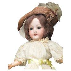 "18"" Vintage German BIsque Head Doll"