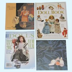 Good Reading, Ultimate Doll Book, Theriault Catalogs, etc