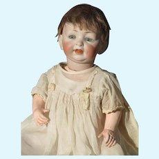 Vintage German Bisque Head Baby Doll