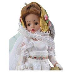 "10"" Cissette Empire Bride, Madame Alexander"