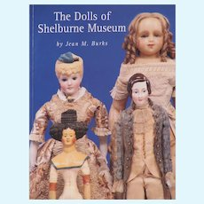 Book The Dolls of Shelburne Museum, Jean M Burks