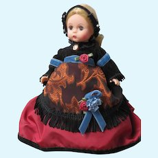 "Vintage Madame Alexander 8"" Aunt March Doll"
