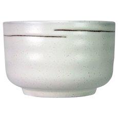 Japanese Hand Thrown Shino Chawan Tea Bowl