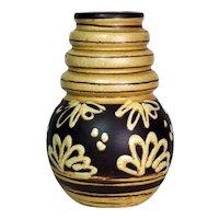 1970's MCM  Scheurich Keramik 269 22 Wien/Vienna West German Pottery Bulb Vase