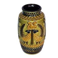 1970's MCM Large Bay Keramik West German Pottery Vase 960 25