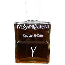 """32 oz Yves Saint Laurent """"Y"""" for Men Eau De Toilette Splash"""