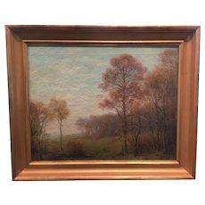"William Reuben Clark Wood   ""Woodland Clearing"""