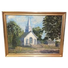"Vernon Broe  ""Country Church"""