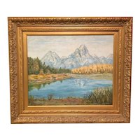 "Mary King Porter   ""Autumn in the Tetons"""
