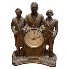 "Franklin D. Roosevelt  ""Steersmen of the U.S.A"" Clock"